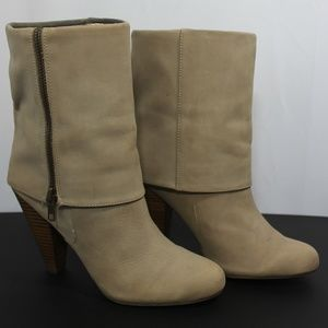 Gap Leather fold over ankle boots 8